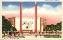 exp150063 - New York Worlds Fair 1939 exhibition postcard Post Card
