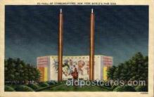 exp150075 - New York Worlds Fair 1939 exhibition postcard Post Card