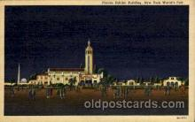 exp150080 - New York Worlds Fair 1939 exhibition postcard Post Card