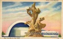 exp150085 - New York Worlds Fair 1939 exhibition postcard Post Card