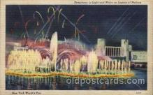 exp150095 - New York Worlds Fair 1939 exhibition postcard Post Card