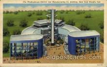 exp150099 - New York Worlds Fair 1939 exhibition postcard Post Card