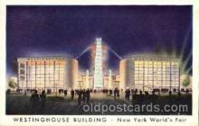 exp150100 - New York Worlds Fair 1939 exhibition postcard Post Card