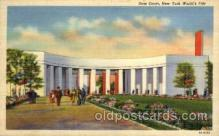 exp150105 - New York Worlds Fair 1939 exhibition postcard Post Card