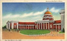 exp150107 - New York Worlds Fair 1939 exhibition postcard Post Card
