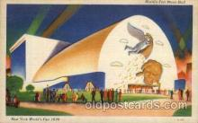 exp150113 - New York Worlds Fair 1939 exhibition postcard Post Card