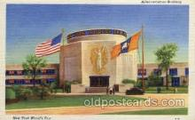 exp150117 - New York Worlds Fair 1939 exhibition postcard Post Card