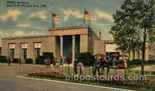 exp150120 - New York Worlds Fair 1939 exhibition postcard Post Card