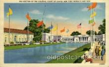 exp150121 - New York Worlds Fair 1939 exhibition postcard Post Card