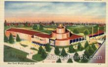 exp150122 - New York Worlds Fair 1939 exhibition postcard Post Card