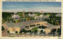 exp150123 - New York Worlds Fair 1939 exhibition postcard Post Card