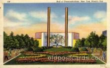 exp150132 - New York Worlds Fair 1939 exhibition postcard Post Card