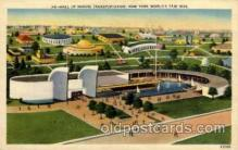 exp150133 - New York Worlds Fair 1939 exhibition postcard Post Card