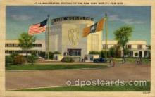 exp150134 - New York Worlds Fair 1939 exhibition postcard Post Card