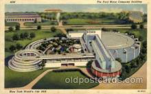 exp150136 - New York Worlds Fair 1939 exhibition postcard Post Card