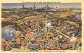 exp150176 - 1939 New York USA, Worlds Fair Exposition, Postcard Post Card