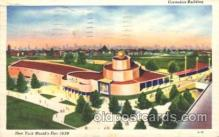 exp150181 - Cosmetics Building 1939 New York USA, Worlds Fair Exposition, Postcard Post Card