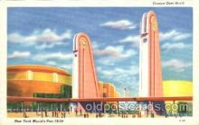 exp150184 - Corona Gate North 1939 New York USA, Worlds Fair Exposition, Postcard Post Card
