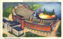 exp150188 - Fountain Lake Ampitheater 1939 New York USA, Worlds Fair Exposition, Postcard Post Card