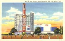 exp150189 - Du Pont Building 1939 New York USA, Worlds Fair Exposition, Postcard Post Card