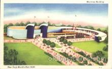 exp150202 - Maritime Building 1939 New York USA, Worlds Fair Exposition, Postcard Post Card
