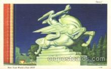 exp150205 - Speed 1939 New York USA, Worlds Fair Exposition, Postcard Post Card