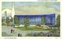 exp150211 - Consolidated Edison's City of Light 1939 New York USA, Worlds Fair Exposition, Postcard Post Card