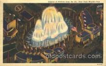 exp150229 - Lagoon of Nations 1939 New York USA, Worlds Fair Exposition, Postcard Post Card