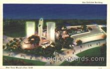 exp150241 - Gas Exhibit 1939 New York USA, Worlds Fair Exposition, Postcard Post Card