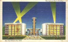 exp150244 - Westinghouse Electric Building 1939 New York USA, Worlds Fair Exposition, Postcard Post Card