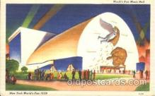 exp150245 - Music Hall 1939 New York USA, Worlds Fair Exposition, Postcard Post Card