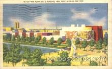 exp150248 - Food Building 1939 New York USA, Worlds Fair Exposition, Postcard Post Card