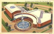 exp150259 - General Electric Building 1939 New York USA, Worlds Fair Exposition, Postcard Post Card