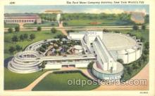 exp150263 - Ford Motor Company 1939 New York USA, Worlds Fair Exposition, Postcard Post Card