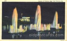 exp150265 - Lagoon of Nations 1939 New York USA, Worlds Fair Exposition, Postcard Post Card