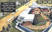 exp150269 - Hall of Fashion 1939 New York USA, Worlds Fair Exposition, Postcard Post Card