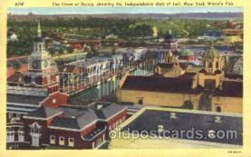 exp150272 - 1939 New York USA, Worlds Fair Exposition, Postcard Post Card