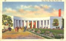 exp150274 - Rose Court 1939 New York USA, Worlds Fair Exposition, Postcard Post Card