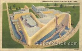 exp150276 - 1939 New York USA, Worlds Fair Exposition, Postcard Post Card