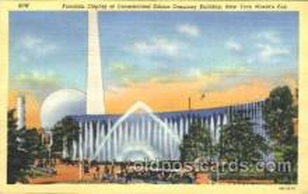 exp150279 - YMCA 1939 New York USA, Worlds Fair Exposition, Postcard Post Card