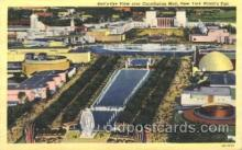 exp150282 - Constitution Mall 1939 New York USA, Worlds Fair Exposition, Postcard Post Card