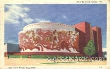exp150288 - Food Building 1939 New York USA, Worlds Fair Exposition, Postcard Post Card