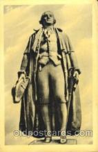 exp150300 - Statue of George Washington 1939 New York USA, Worlds Fair Exposition, Postcard Post Card