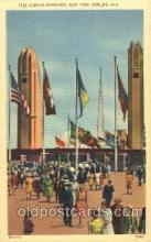 exp150308 - Corona Gate North 1939 New York USA, Worlds Fair Exposition, Postcard Post Card