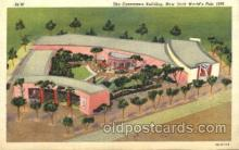 exp150325 - The Consumers Building New York 1939 Worlds Fair, Exposition, Postcard Post Card