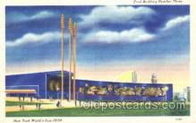 exp150326 - Food Bulilding No.3 New York 1939 Worlds Fair, Exposition, Postcard Post Card