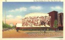 exp150327 - Food Bulilding No.2 New York 1939 Worlds Fair, Exposition, Postcard Post Card