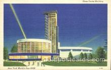 exp150347 - Glass Center New York 1939 Worlds Fair, Exposition, Postcard Post Card