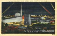 exp150348 - General Motor New York 1939 Worlds Fair, Exposition, Postcard Post Card