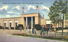 exp150354 - YMCA New York 1939 Worlds Fair, Exposition, Postcard Post Card